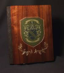 Leather Photo Albums Engraved Wedding Photo Albums Personalized Wedding Album In Wood Leather