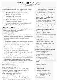 Resume Sle For A Nursing Student Nursing Cover Letter Sles Resume Genius Effective For