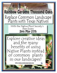 replace common landscape plants with natives rainbow gardens