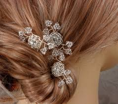 wedding hair combs custom made baby s breath bridal hair combs wedding
