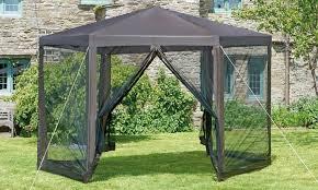 tonnelle de jardin avec moustiquaire tonnelle de jardin hexagone groupon