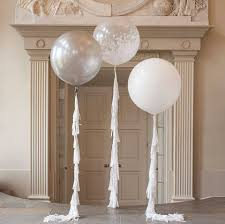 jumbo balloons metallic silver 60cm balloon just for kids
