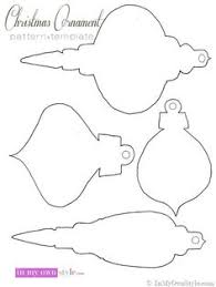 free printable christmas ornaments stencils free printable christmas ornament pattern and template to make your