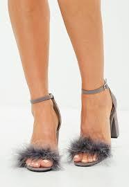 block heels women u0027s block heeled shoes missguided
