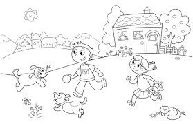 preschool summer coloring pages bestofcoloring com