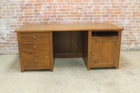 desk with hide away printer file drawer ecustomfinishes