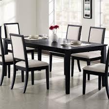 wonderfull design black dining room tables nonsensical black