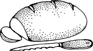 Bread Clipart Coloring Page 2611123 Bread Coloring Page