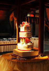 Chinese Wedding Cake Stock Photo Image Of Flowers Ceremony 6149678