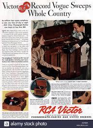 Magazine Usa 1930s Usa American Magazine Advert Stock Photo Royalty Free Image