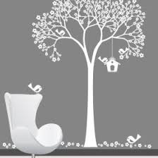 White Tree Wall Decal For Nursery Wall Decal Stunning White Tree Wall Decal For Nursery White