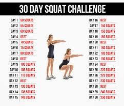Challenge Para Que Sirve Entrenamiento Personal Entrenamiento Funcional 30 Day Squat