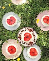 Vase With Red Poppies Preppy Poppy Baby Shower Martha Stewart