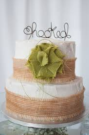 burlap cake toppers all about wedding cakes san antonio wedding photographer the