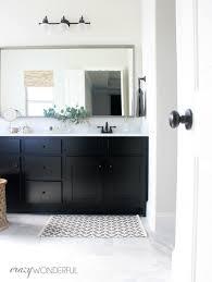 how to fix a boring builder grade bathroom crazy wonderful