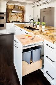 best 25 transitional kitchen trash cans ideas on pinterest