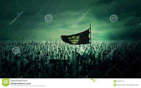 Byzantine Empire Flag The Roman Byzantine Empire Army Going To War Holding The Double