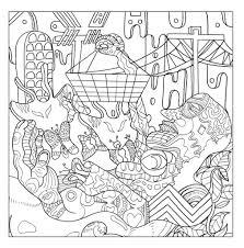design coloring book strange origins u2013 the stoner u0027s coloring book