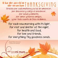 imagenes de amor en ingles español poema de thanksgiving en español e inglés cosas para mi muro