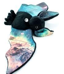 Halloween Fleece Fabric by Bat Halloween Plushies Space Plush Stuffed Animals Plushie
