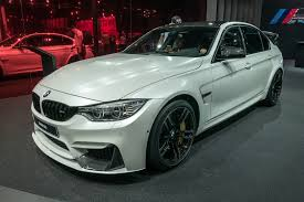 modified bmw m3 2016 bmw m3 and 3 series get facelift more tech for frankfurt