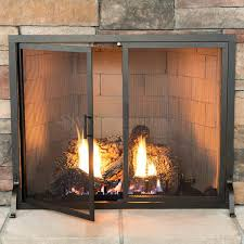 fireplace screens for gas fireplaces fireplace