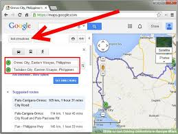 map with driving directions how to get driving directions in maps 4 steps