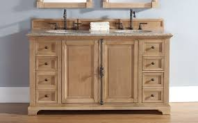 Solid Wood Bathroom Cabinet Bathroom Awesome Unfinished Solid Wood Vanities From James Martin