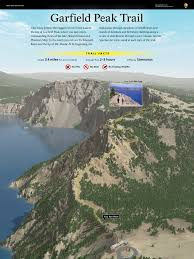 Crater Lake Oregon Map by 3d Terrain Maps Reflections And Waves