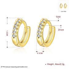 malabar diamond earrings china factory wholesale zircon diamond self piercing hoop earrings