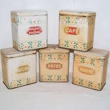 boites cuisine 6 boites en tole lithographiee pots de cuisine menier vintage