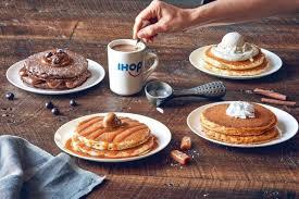 new latte lover s pancakes menu arrives at ihop brand
