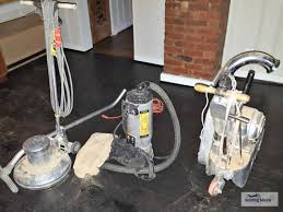 Used Floor Sanding Equipment For Sale by Floors A Kitchen U0027s Stained Black Floor A Modern Look When