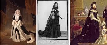 robes de mariã e vintage robe de cour xviième siècle de fil en dentelle