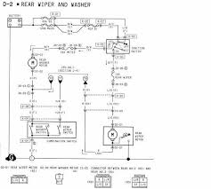 rear wiper and washer wiring diagrams of 1994 mazda rx 7 u2013 circuit