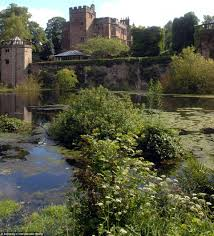 one of the last moated castles in england is for sale and comes