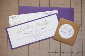 wedding invitations san diego modern city skyline wedding invitation suite san francisco