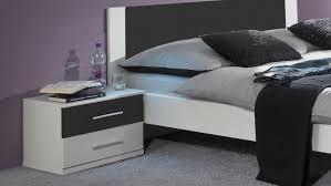 Schlafzimmer In Anthrazit Nora In Weiß Und Anthrazit Doppelbett Kleiderschrank