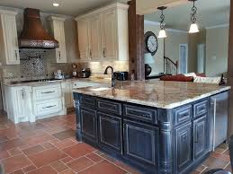 chalk paint kitchen cabinets and island u2014 paint inspirationpaint