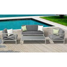 Aluminium Patio Table Patio Ideas Outside Table And 4 Chairs Metal Patio Furniture
