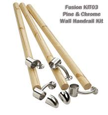 fusion wall handrail kit stair banister rail kit