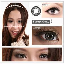 eos spray grey contact lens pair 210gy 24 99