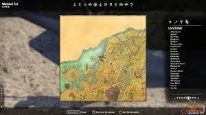 Stonefalls Ce Treasure Map Malabal Tor Treasure Map Vi Location The Elder Scrolls Online