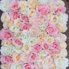 Silk Flowers Artificial Flowers Wall Artificial Flowers Wall Suppliers And