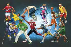sports murals for bedrooms sports themed wallpaper