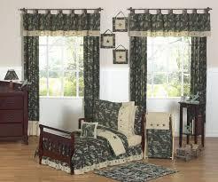 Bedroom Curtain Sets Bedroom Interior Bedroom Dark Green Floral Pattern Kids Bedding