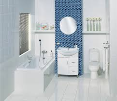 Bathroom Ideas Blue And White Pic Blue Bathroom Indoor Rooms Pinterest Blue Bathrooms