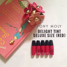 toni moli tonymoly lip tint delight deluxe size preloved health beauty
