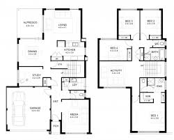 wonderful a two storey house plan house of samples two storey