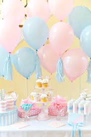 gender reveal party boy or girl blue pink gender reveal party pizzazzerie